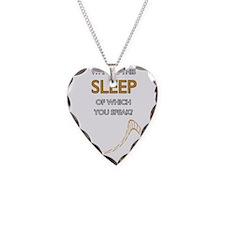 Keep-Sleep-Edge Necklace