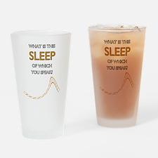 Keep-Sleep-Edge Drinking Glass