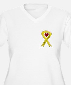 Keep My Son-in-law Safe Ribbo T-Shirt