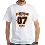 Statehood Maryland White T-Shirt