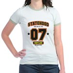 Statehood Maryland Jr. Ringer T-Shirt