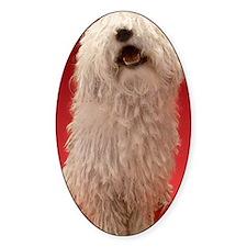 Cute Komondor Dog Decal