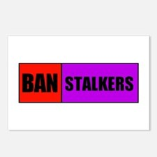 BAN STALKERS Postcards (Package of 8)