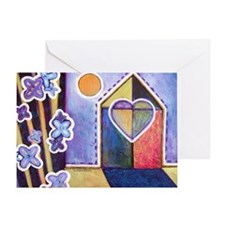 House and Home Greeting Card