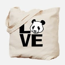 Love Panda Tote Bag
