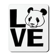 Love Panda Mousepad