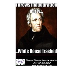 AJ Trashed White House Postcards (Package of 8)
