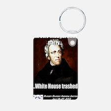 AJ Trashed White House Keychains
