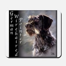 German Wirehaired Pointer Mousepad