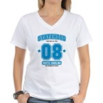 Statehood South Carolina Women's V-Neck T-Shirt