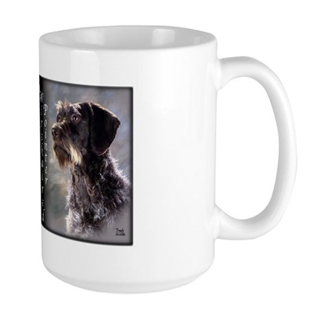German Wirehaired Pointer Large Mug