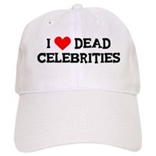 Dead Celebrities Baseball Cap