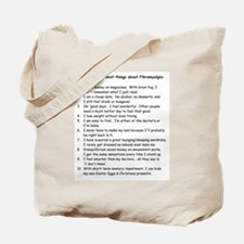 Top 10 for Fibromyalgia Tote Bag