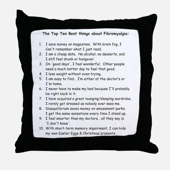 Top 10 for Fibromyalgia Throw Pillow