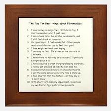 Top 10 for Fibromyalgia Framed Tile