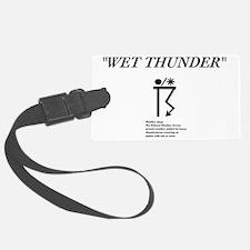 Wet Thunder Luggage Tag