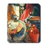 Still Life w/Bottle by Elsie Mousepad