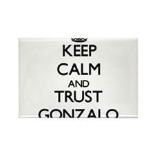 Keep Calm and TRUST Gonzalo Magnets