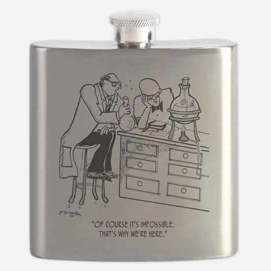 Of Course Its Impossible Flask