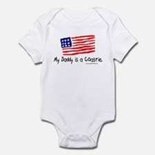 My Daddy is a Coastie. Infant Bodysuit