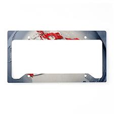 Digital Composite, flag of Ca License Plate Holder