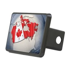 Digital Composite, flag of Rectangular Hitch Cover