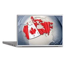 Digital Composite, flag of Canada Laptop Skins
