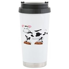 Cute Cow Shirt Travel Mug