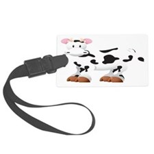 Cute Cow Shirt Luggage Tag