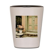 Pastel Colored Doorstep in Old Norway Shot Glass