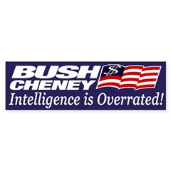 Bush-Cheney: Intelligence is Overrated!