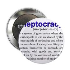 """Ineptocracy 2.25"""" Button"""