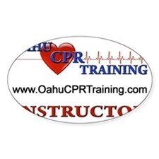 Instructor Back Logo Decal