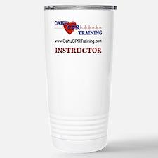 Instructor Back Logo Travel Mug
