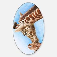 Giraffe and Calf 3G Phone Case Decal