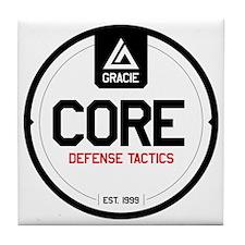 Gracie CORE Defense Tactics Tile Coaster