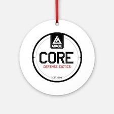 Gracie CORE Defense Tactics Round Ornament