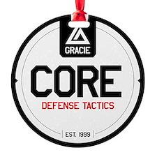 Gracie CORE Defense Tactics Ornament