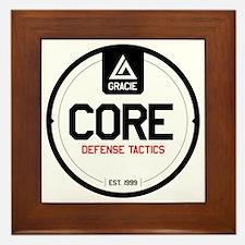 Gracie CORE Defense Tactics Framed Tile
