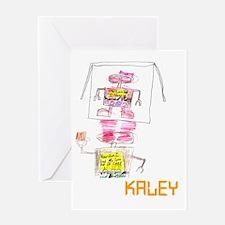 Kaley Greeting Card