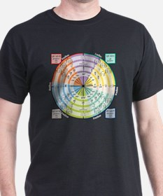 Unit Circle: Radians, Degrees, Quads T-Shirt