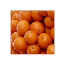 """Oranges Square Sticker 3"""" x 3"""""""