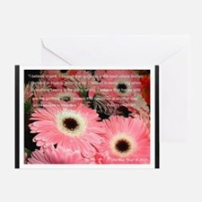 I Believe in Pink... Greeting Card