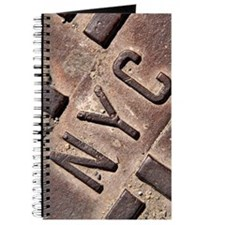 Downtown NYC manhole cover Journal