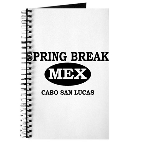 Spring Break Cabo San Lucas, Journal