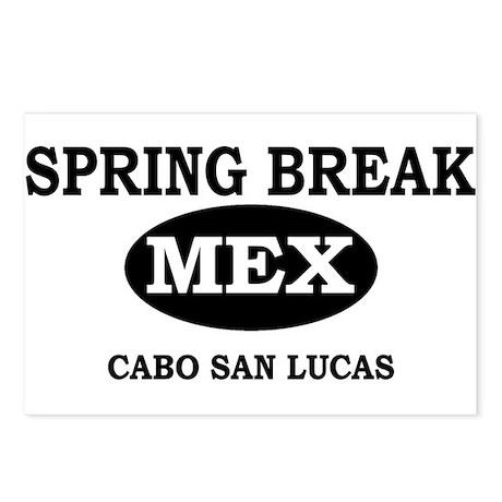 Spring Break Cabo San Lucas, Postcards (Package o