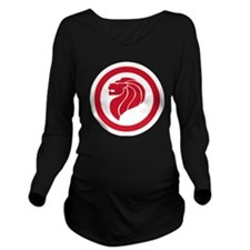RSiAF roundel Long Sleeve Maternity T-Shirt