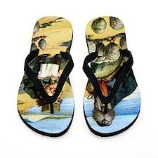 Alice CARPENTER  WALRUS_SQ Flip Flops
