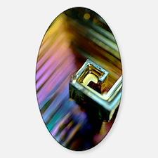 Bismuth crystal Decal