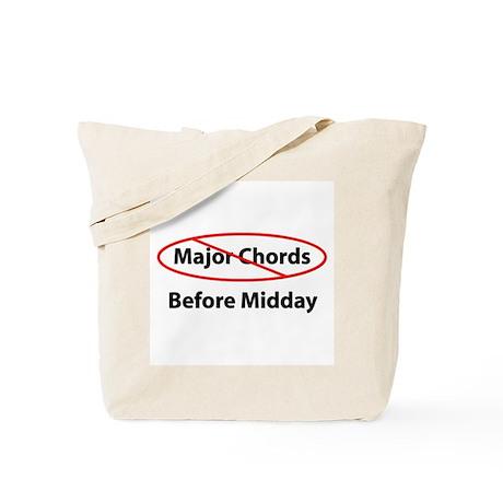 No Major Chords Tote Bag